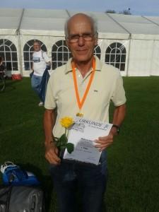 Am Kernberg erfolgreich!! 1. Platz M70